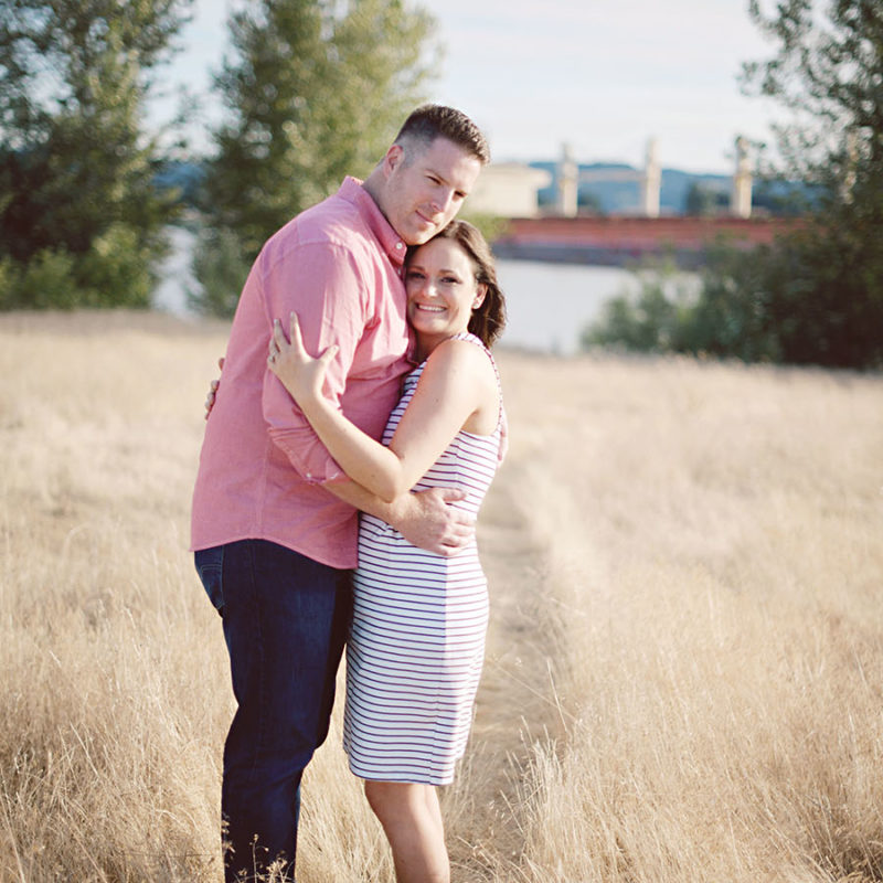 Frenchman's Bar Park Engagement Photographer