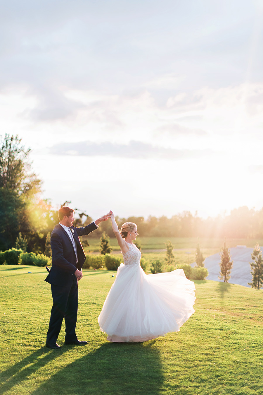 Sunset Wedding Photo Deyla Huss Photography