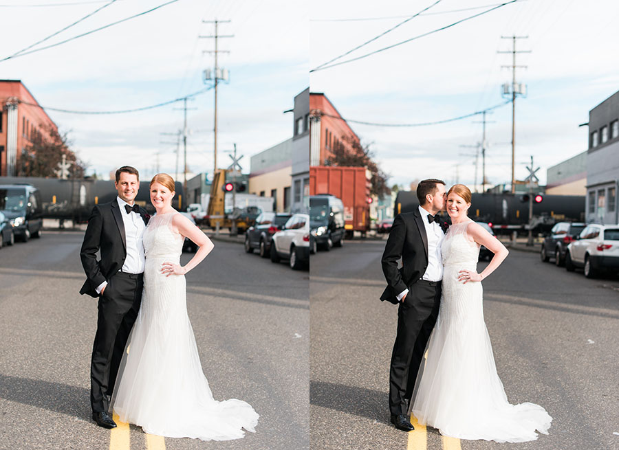 Urban Portland Wedding