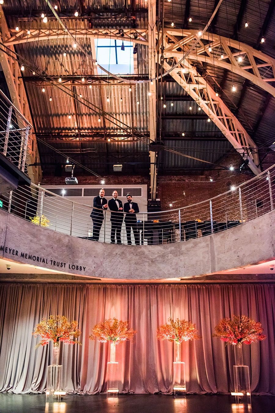 Portland Gerding Theatre The Armory Wedding Deyla Huss Photography