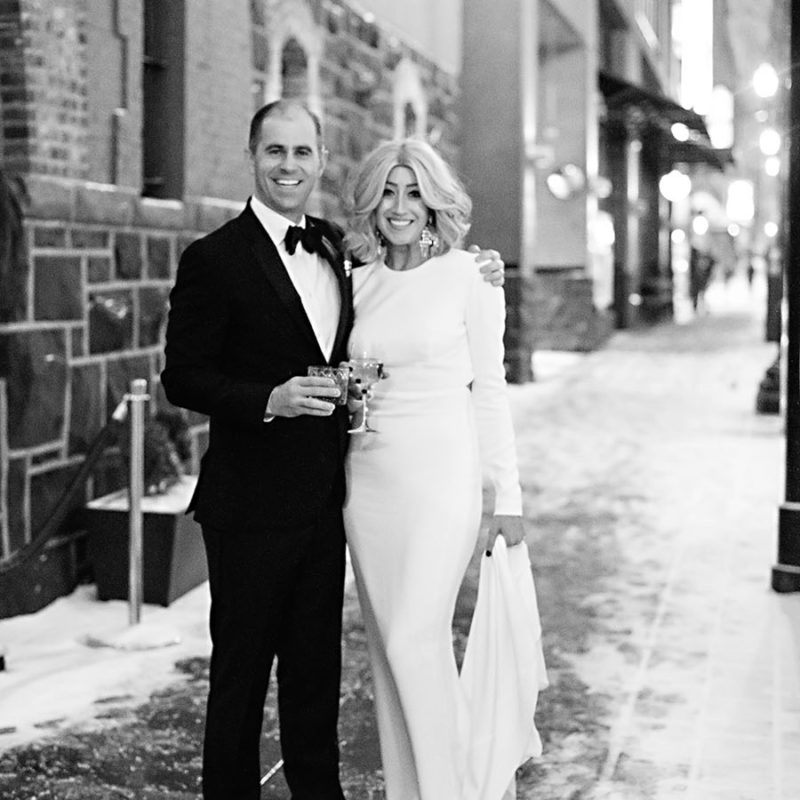 Portland Gerding Theatre Armory Black Tie Wedding Deyla Huss Photography