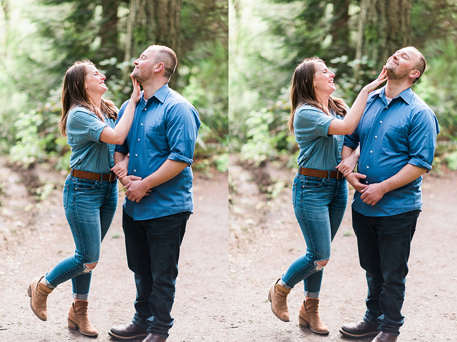 Seattle Engagement Photo Deyla Huss Photography